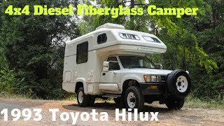 1993 Toyota Hilux Diesel Truck 4x4 Camper by OttoEx