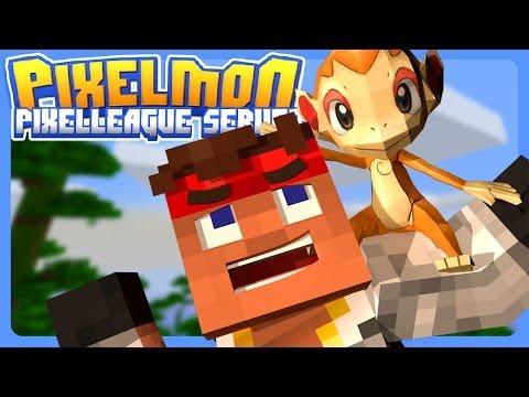 SEARCH for Pixelmon 3.0 STARTERS!!! | Pixel-League Pixelmon | Pixelmon 3.0