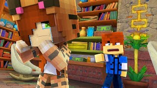 Minecraft Daycare - ANGRY AT TINA !? (Minecraft Roleplay)