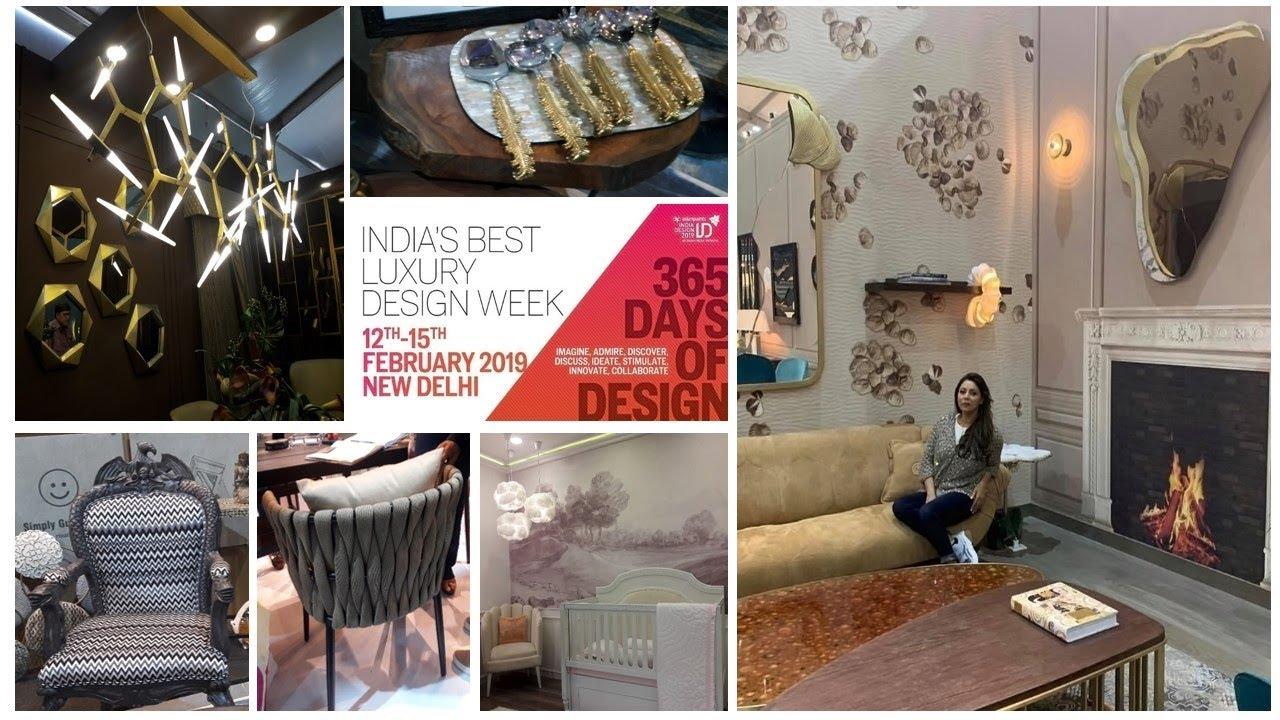 Interior Trend 2019 I Delhi Exhibition Highlight I NSIC Okhala