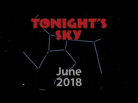 Tonight's Sky: June 2018