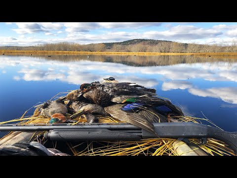 Waterfowl Hunting From The Kayak!