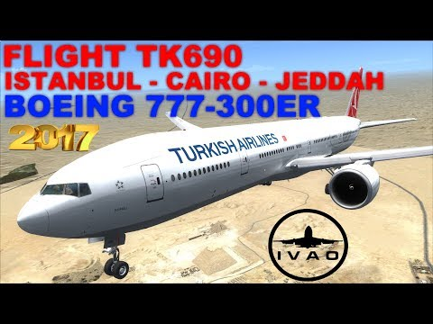 [FSX] LIVE STREAM | FLIGHT FLOG #34 | FLIGHT TK690 | ISTANBU