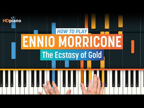 How To Play The Ecstasy of Gold  Ennio Morricone  HDpiano Part 1 Piano Tutorial