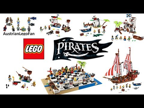 All Lego Pirates Sets 2015 Compilation - Lego Speed Build Review thumbnail