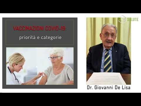 Vaccinazioni Covid-19: priorità e categorie