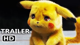 POKEMON DETECTIVE PIKACHU Official Trailer (2019) Live Action Movie HD