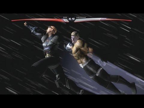 Injustice Gods Among Us: General Zod vs Blackest Night