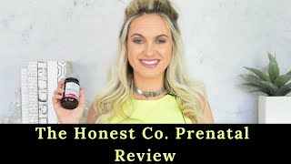 The Honest Co. Prenatal Once Daily Review