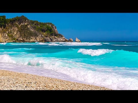 The Most Relaxing Waves Ever - Playa De Piticabo Ocean Sounds To Sleep, Study And Chill