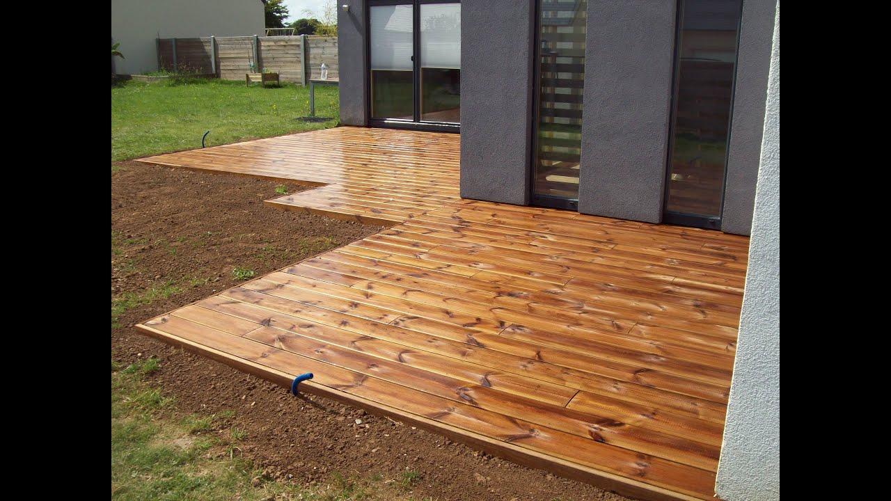 terrasse bois jardi zen cherbourg youtube. Black Bedroom Furniture Sets. Home Design Ideas