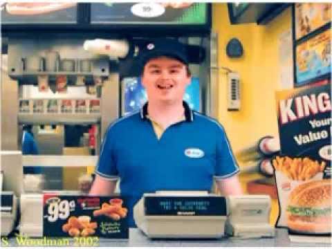 Retarded Burger King Chipmunk Remix
