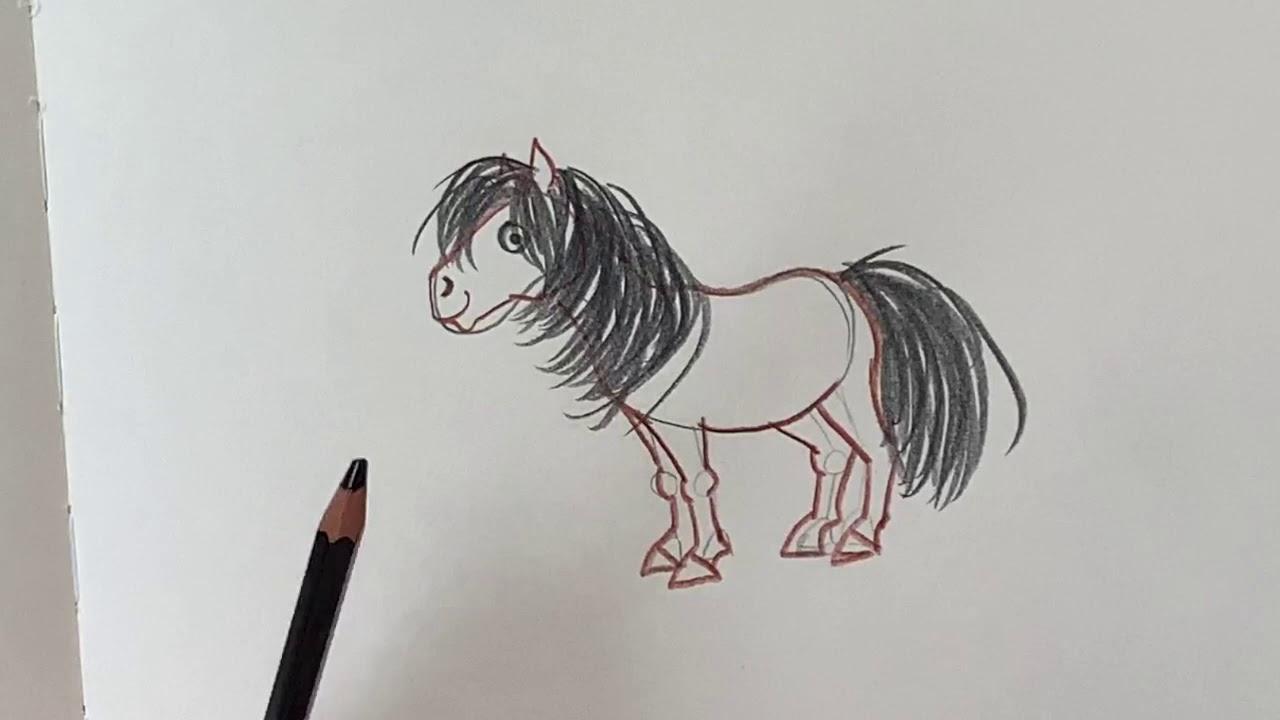 Download Nina zeichnet ein Pony - Haferhorde Zeichenworkshop - Zeichenkurs