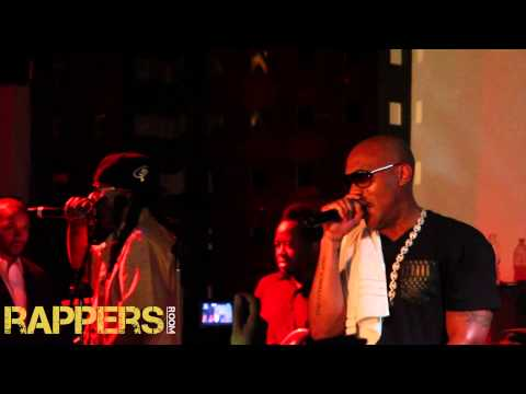 Mr. Cheeks - Crush On You Ft. Mario Winans (Live)