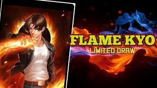 KOF98 UMOL English Flame Kyo Limited Draw