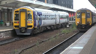 Trains at Middlesbrough - 21/07/2020