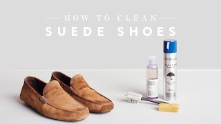 How to Clean Suede Shoes | Nordstrom Expert Tips
