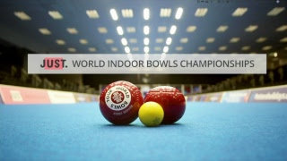 Just. 2019 World Indoor Bowls Championships: Day 1 Session 2