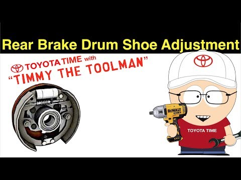 How to Adjust Rear Drum Brake Shoes to Remove Drums