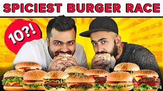 Ultimate Burger Eating Challenge | Spicy Burgers | Delhi Food | Challenge Accepted