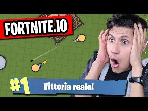 VITTORIA REALE!!! FORTNITE.IO il NUOVO FORTNITE