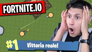 REAL VITTORY!!! FORTNITE. I the NEW FORTNITE