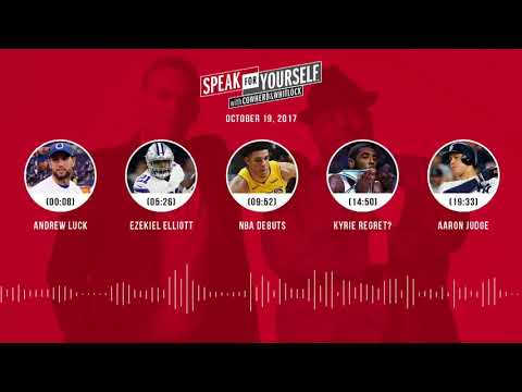 SPEAK FOR YOURSELF Audio Podcast (10.19.17) with Colin Cowherd, Jason Whitlock | SPEAK FOR YOURSELF
