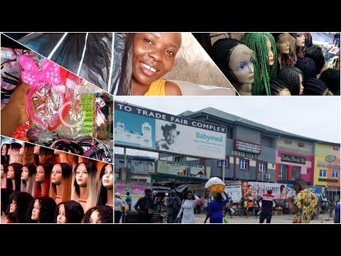 FOLLOW ME TO TRADE FAIR MARKET. THE BIGGEST MARKET IN LAGOS NIGERIA