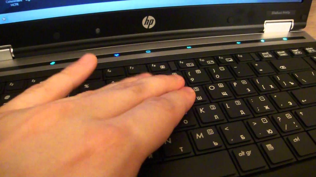 Hp Elitebook 8440 Keyboard And Touchpad Youtube