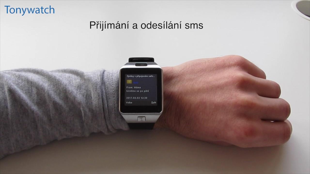 Chytré hodinky DZ09 - YouTube f78c33d91bd