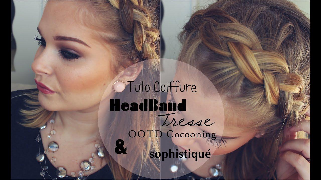 Coiffure Headband Cheveux Mi Long Tresse Couplesretirementpuzzle