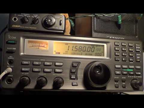 Favorite Frequencies 11580 Khz Shortwavve WRMI with Radio Ukraine