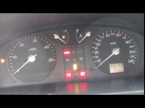Kontrolki W Samochodzie >> Renault Laguna II 1.9 dCi '01- Kontrolka Świec Żarowych - Problem z mocą - YouTube