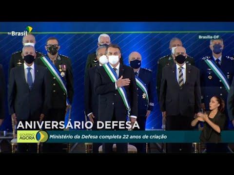 #AoVivo Cerimônia em comemoração aos 22 anos do Ministério da Defesa