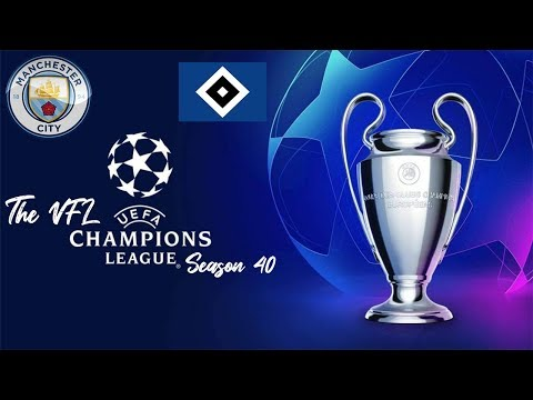 VFL Champions League Season 40 - Manchester City vs Hamburg