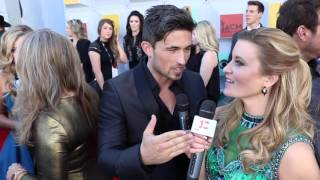 "Michael Ray Talks ""Think A Little Less"" // ACM Red Carpet"