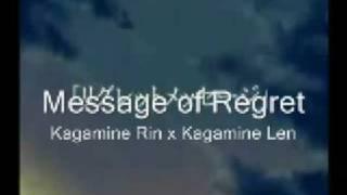 Regret Message - Mio x Kagamine Rin x Kagamine Len (eng subs)