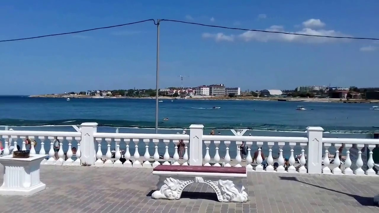 Севастополь.Городской пляж