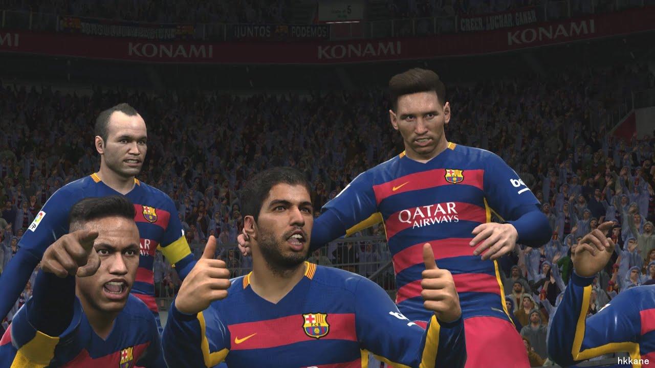 Konami firma convenio exclusivo de PES 2017 con FC Barcelona