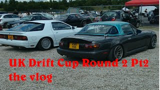 UK Drift Cup round 2, Three Sisters, 4th July 2015 pt2 - Vlog