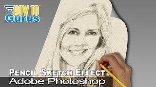 Video Photoshop Pencil Sketch Effect from a Portrait Photo : CC 2018 CS6 CS5 Tutorial download MP3, 3GP, MP4, WEBM, AVI, FLV Juni 2018