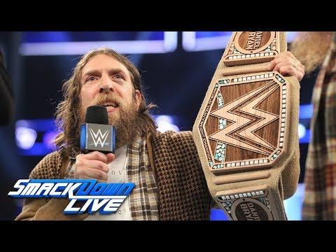 Daniel Bryan dumps WWE Championship for eco-friendly title: SmackDown LIVE, Jan. 29, 2019