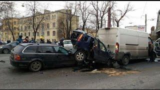 авария в санкт петербурге на лесном проспекте 11 02 2016