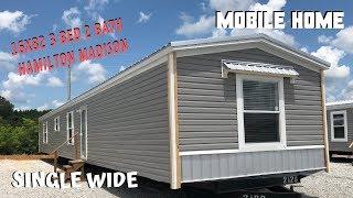 Mobile Home | 16x82 3 bed 2 bath Hamilton Madison Single Wide | Mobile Home Masters