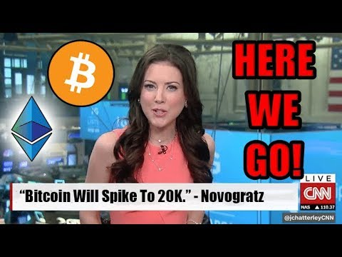"""Bitcoin Will Spike To 20K In The Next 18 Months"" - Mike Novogratz On CNN [UNICEF NEWS]"