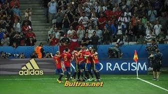 EM 2016: Spanien vs. Türkei