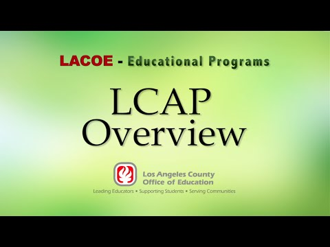 LCAP Overview