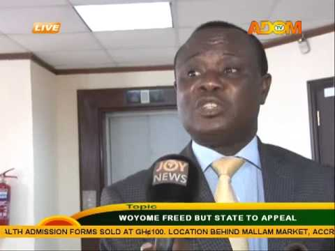 Woyome Freed But State To Appeal - Asem Kesee (13-3-15)
