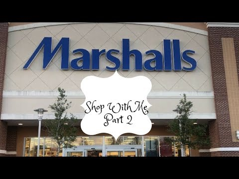 🍁🍂MARSHALLS SHOP WITH ME PART 2|FALL 2017 🍁🍂
