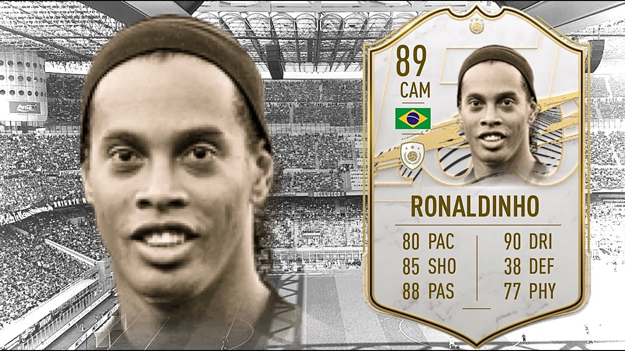 FIFA 21: RONALDINHO 89 ICON PLAYER REVIEW I FIFA 21 ULTIMATE TEAM - YouTube